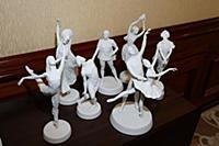 Статуэтки артистов балета. Пресс-коктейль «Встречи