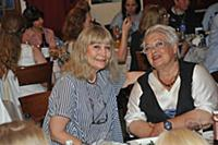 Наталья Орлова, Наталья Дабижа. Пресс-обед посвяще