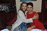Елизавета Арзамасова, Мария Козакова. Пресс-обед п