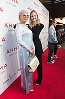 Саша Лусс (Sasha Luss) с мамой. Премьера фильма «А