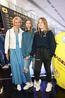 Татьяна Лазарева с дочерью. Премьера фильма «Челов