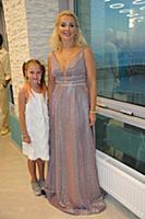 Мария Порошина с дочерью. 23-й Фестиваль Визуальны