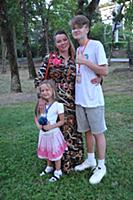 Наталья Громушкина с детьми. 23-й Фестиваль Визуал
