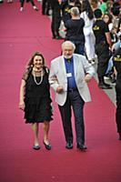 Рустам Ибрагимбеков с супругой. 2-й кинофестиваль