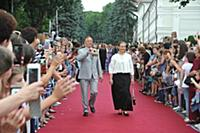 Николай Бурляев, Инга Шатова. 2-й кинофестиваль «Х