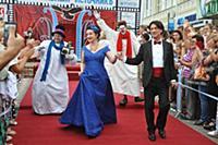 Тамара Гвердцители, Эвклид Кюрдзидис. 2-й кинофест