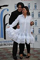 Эвклид Кюрдзидис, Наталья Иванова. 2-й кинофестива