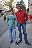Олег Масленников-Войтов с сыном. Юбилейный вечер С