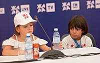 Алла-Виктория Киркорова, Мартин Киркоров. Пресс-ко