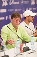 Григорий Лепс, Эмин Агаларов (Emin). Пресс-конфере