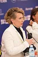 Яна Чурикова. Пресс-конференция, посвященная откры