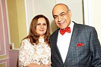 Гасан Мирзоев с супругой. День рождения актрисы Гу