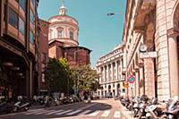 Милан, Италия  Только для редакционного использова