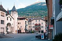 Швейцария, Бриг  Только для редакционного использо