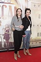 Ирина Апексимова с дочерью. Пресс-показ фильма «Од