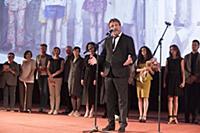Леонид Ярмольник. Пресс-показ фильма «Одесса» и тв