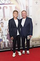 Сергей Шакуров с сыном Маратом. Пресс-показ фильма