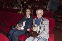 Лион Измайлов с супругой. Пресс-показ фильма «Одес