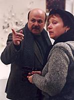 Александр Калягин с женой