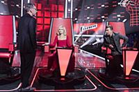 Съемки ТВ-программы «Голос»