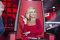 Полина Гагарина. Съемки ТВ-программы «Голос». Пави