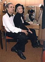 Александр Лазарев ст. и Светлана Немоляева