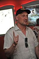 Гоша Куценко. Открытый кинофестиваль «Киношок». Ро