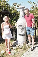 Александр Яцко с супругой. Открытый кинофестиваль