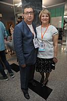 Юсуп Разыков с супругой. Открытый кинофестиваль «К