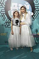 Белла Потемкина с дочерью. Национальная телевизион
