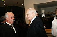 Леонид Якубович, Марк Захаров.
