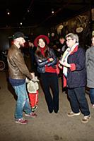 Анастасия Меськова с супругом Александром и сыном