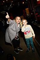 Наталья Быстрова с сыном Елисеем. Посещение нового