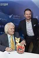 Юрий Куклачев, Дмитрий Куклачев. Пресс-конференция