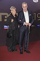 Андрей Норкин с супругой. Торжественная церемония