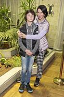 Алика Смехова с сыном. Премьера фильма «Волшебник»