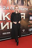 Олеся Судзиловская. Премьера фильма «Дикая лига».