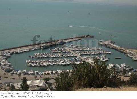 Тунис. На снимке: Порт Карфагена.
