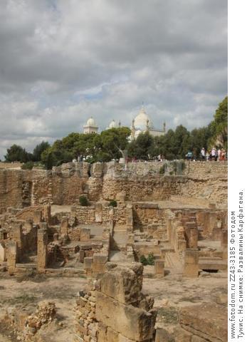 Тунис. На снимке: Развалины Карфагена.