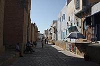 Тунис. На снимке: Медина города Кайруан.