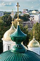 Ярославль, Спасо-Преображенский монастырь, купола