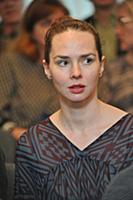 Елена Николаева. Церемония вручения Театральной пр