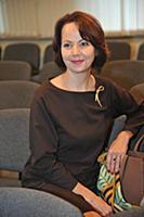Вера Новикова. Церемония вручения Театральной прем