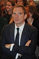Андрей Бурковский. Церемония вручения Театральной