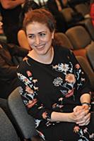 Софья Апфельбаум. Церемония вручения Театральной п