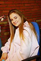 Катя Адушкина. Съемки фильма «Красная шапочка. Тай