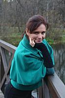 Актриса Янина Мелехова.