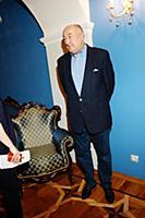 Борис Клюев. Экскурсия для СМИ по Малому театру к