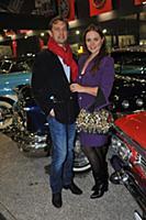 Анна Зайцева (Лореанна) с супругом. День автомобил