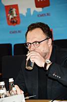Виктор Гусев. Пресс-конференция организаторов футб